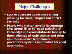 major challenges9