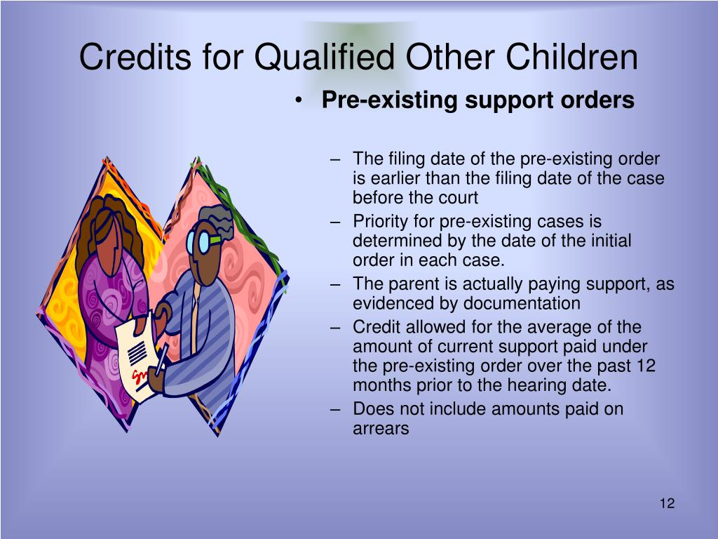 Credits for Qualified Other Children