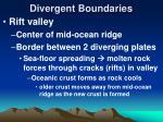 divergent boundaries17