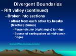 divergent boundaries18