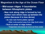 magnetism the age of the ocean floor13