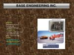base engineering inc