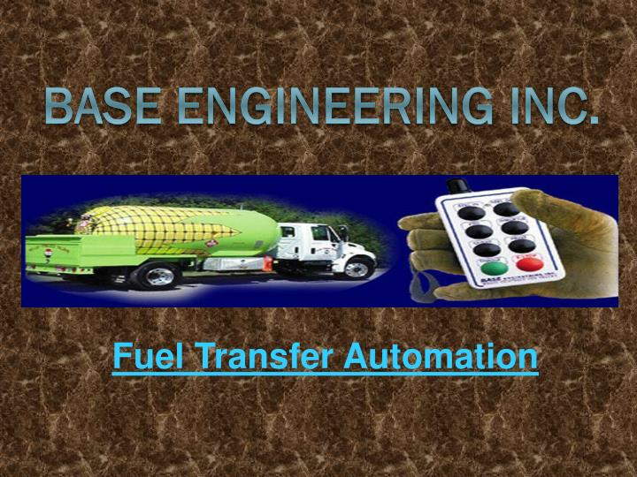fuel transfer automation n.