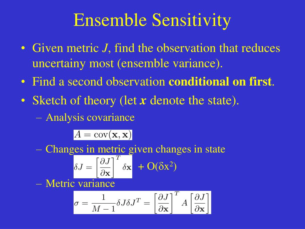Ensemble Sensitivity