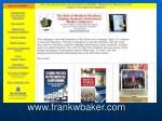www frankwbaker com