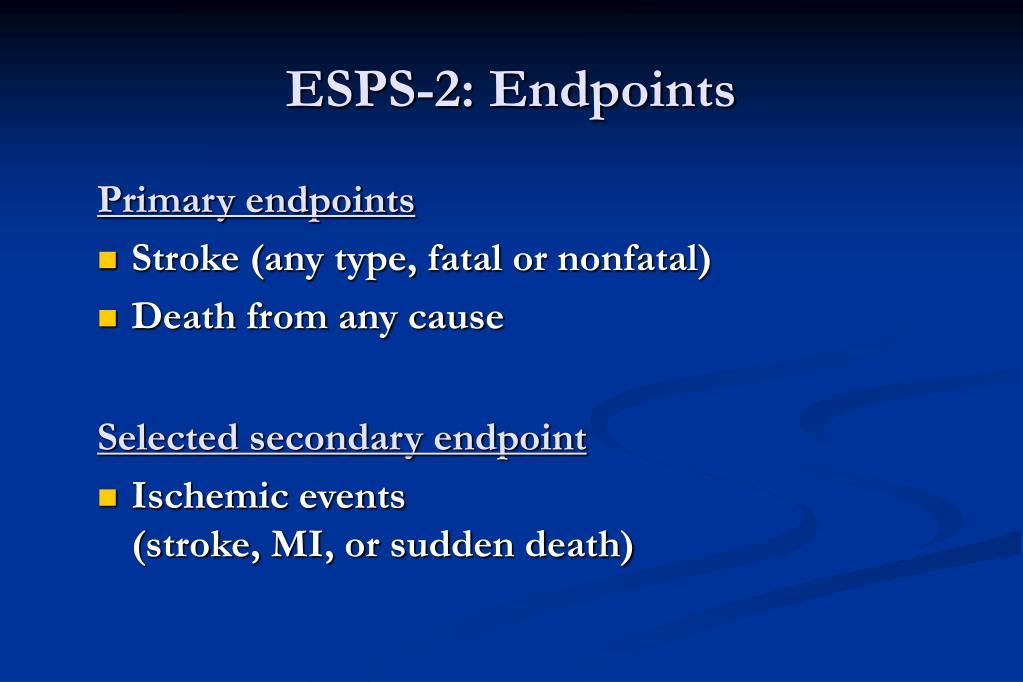ESPS-2: Endpoints