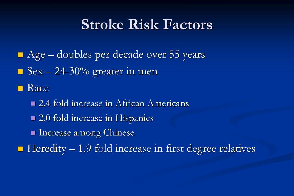 Stroke Risk Factors