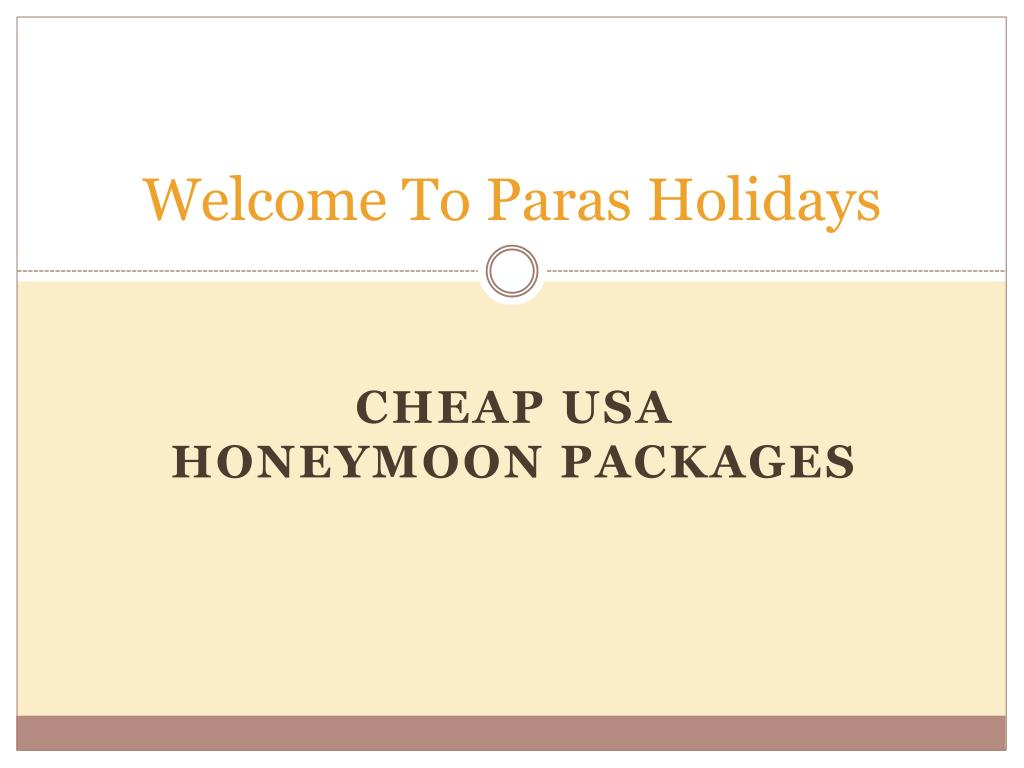 welcome to paras holidays l.