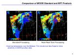 comparison of modis standard and nrt products9