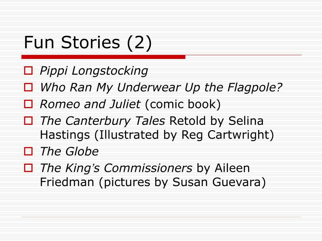 Fun Stories (2)