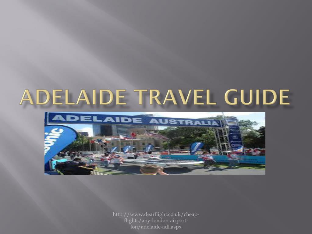 adelaide travel guide l.