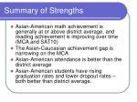 summary of strengths