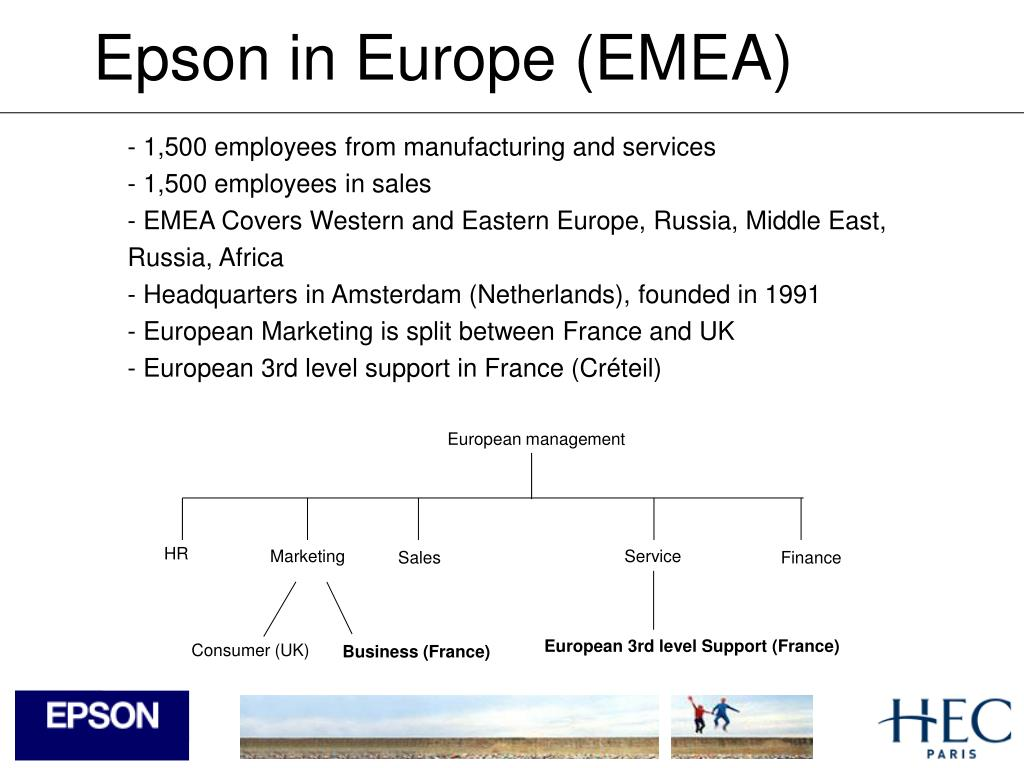 Epson in Europe