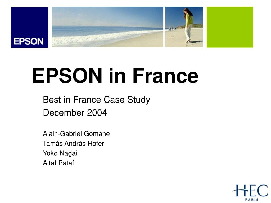 EPSON in France