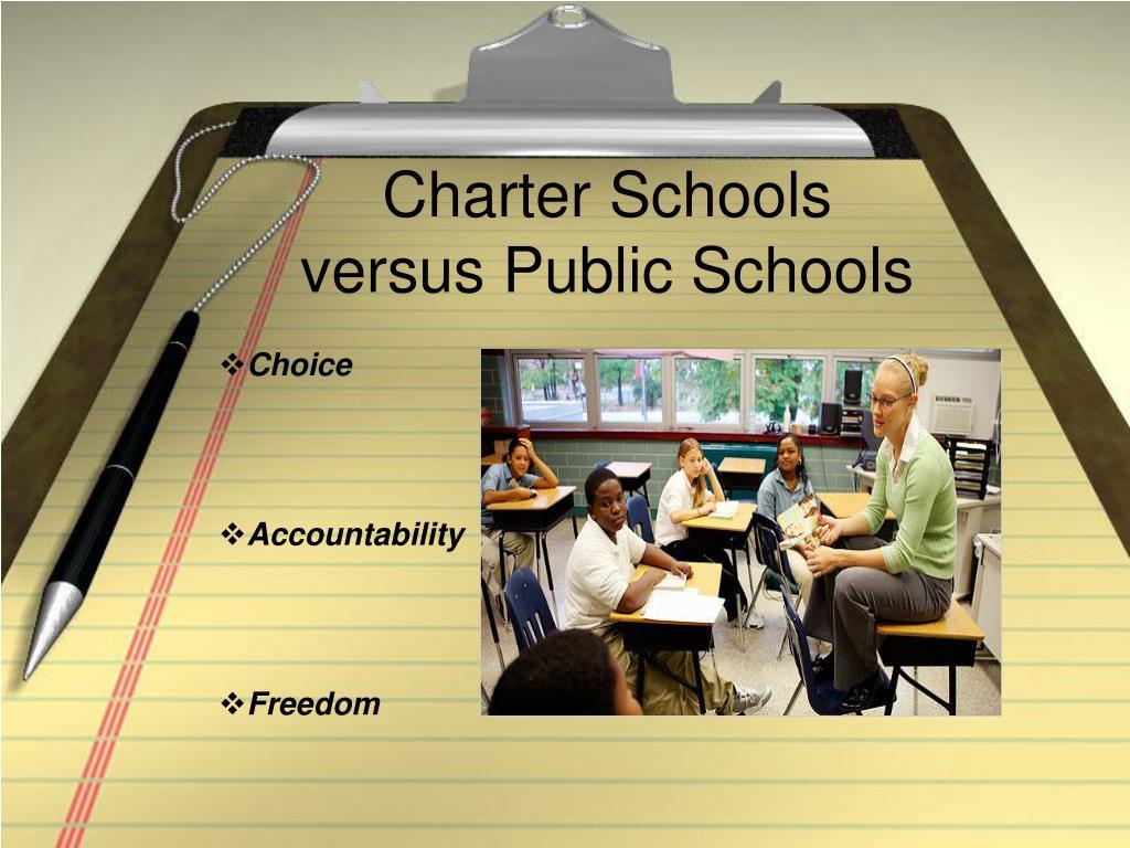 charter schools versus public schools l.