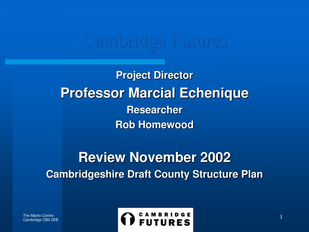 Cambridge Futures