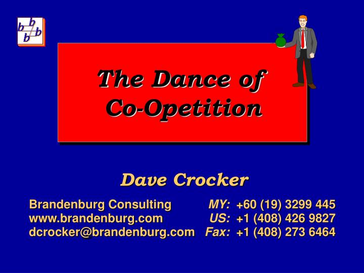 The dance of co opetition