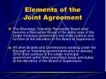 elements of the joint agreement28