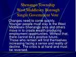 shenango township west middlesex borough single government vote11