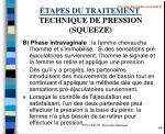 tapes du traitement technique de pression squeeze