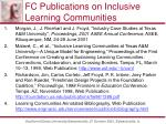 fc publications on inclusive learning communities