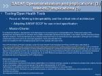saeaf operationalization and implications 3 inter hl7 implications 5