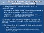 saeaf soa and ea core principles 8 integration vs interoperability
