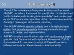 saeaf summary 3