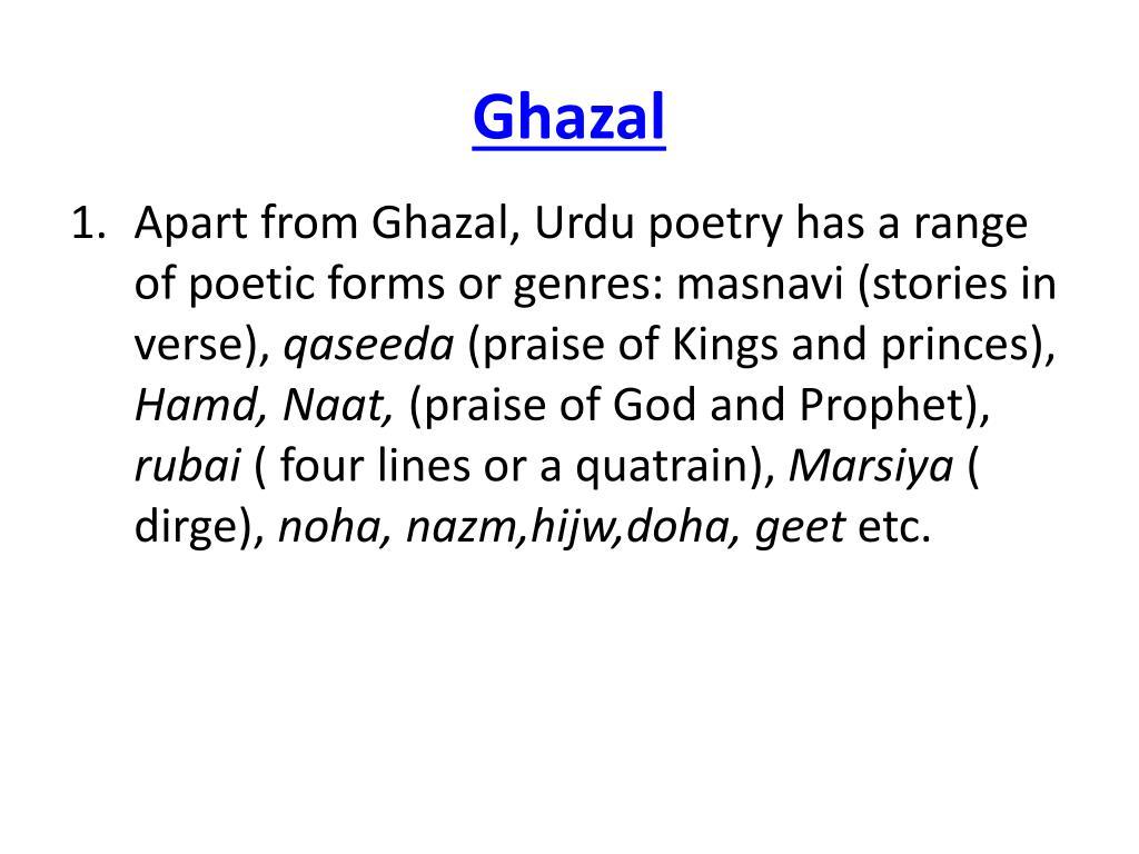 ghazal l.