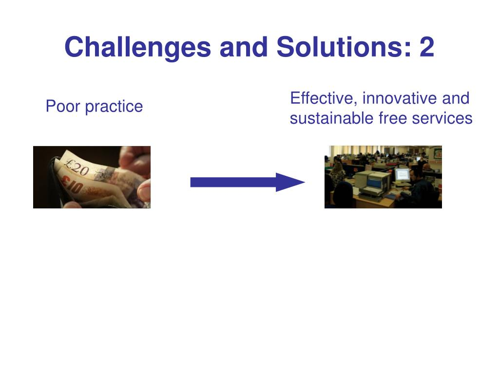 Challenges and Solutions: 2