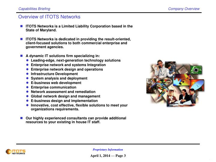 Overview of itots networks
