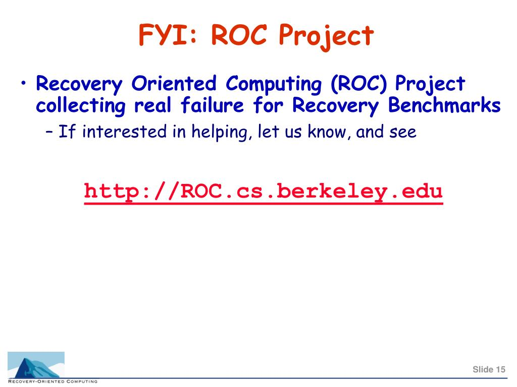FYI: ROC Project