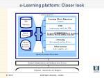 e learning platform closer look