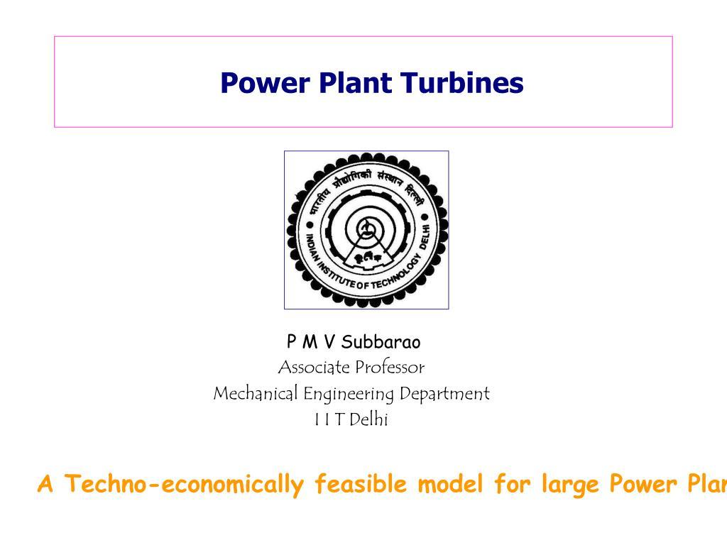 power plant turbines l.