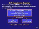 svr hypothesis question