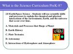 what is the science curriculum prek 810