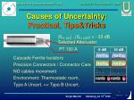 causes of uncertainty practical tips tricks