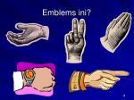 emblems ini