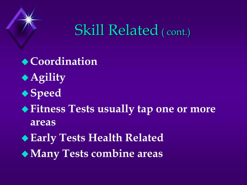 Skill Related