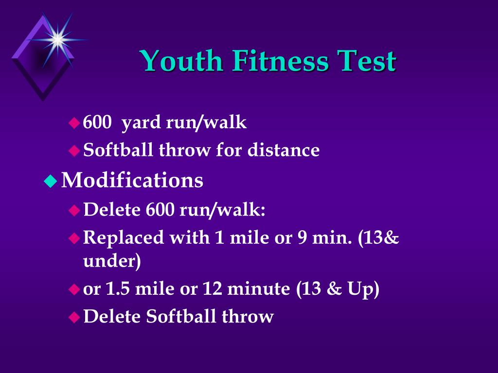 Youth Fitness Test