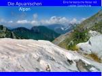 die apuanischen alpen