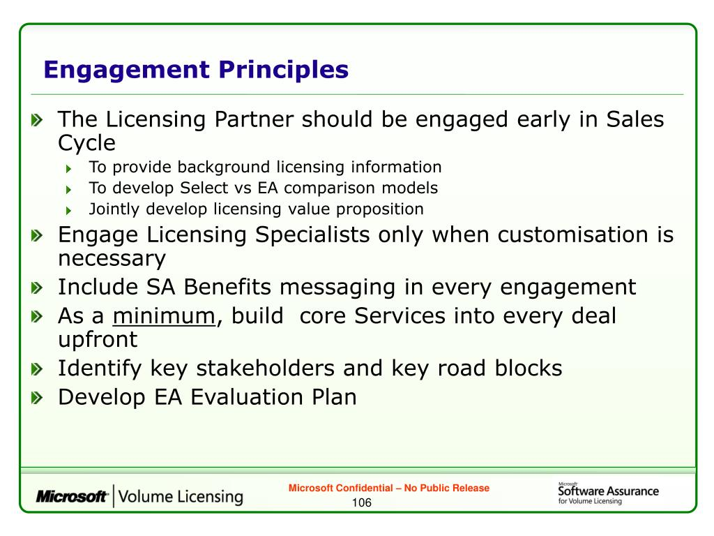 Engagement Principles
