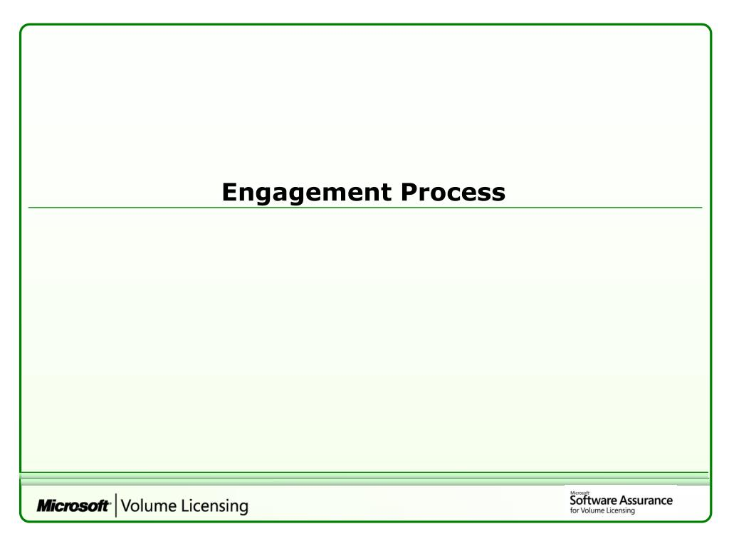 Engagement Process