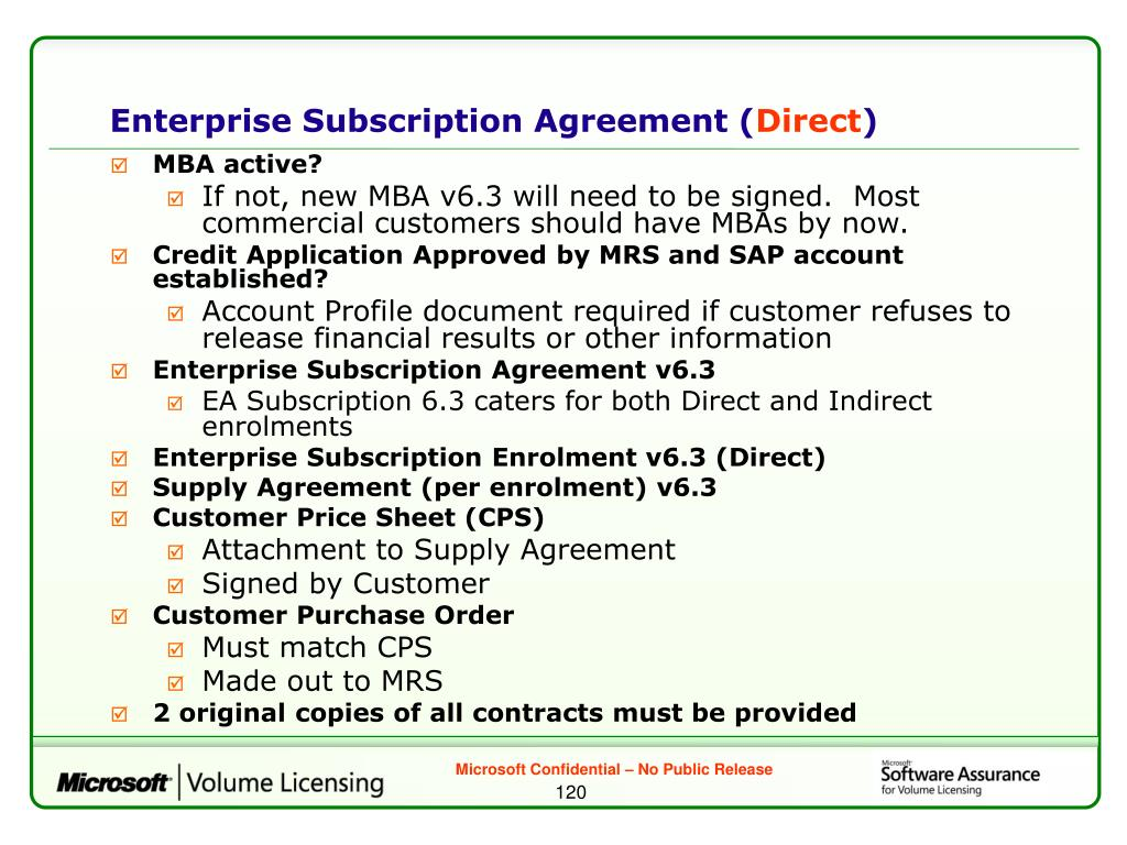 Enterprise Subscription Agreement (
