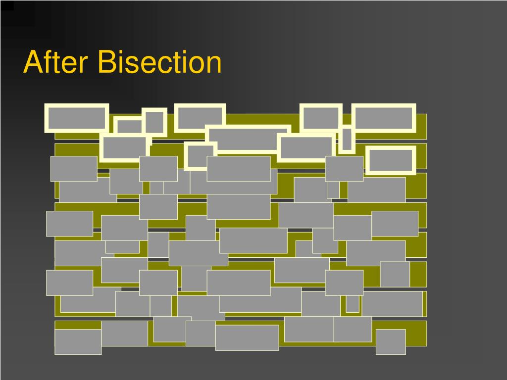 After Bisection
