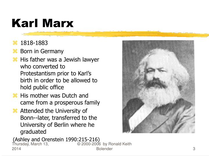 consciousness in karl marxs theories Lecture 13 - marx's theory of class and exploitation overview in order to move from a theory of alienation to a theory of exploitation, marx develops a concept of class and of the capitalist mode of production.