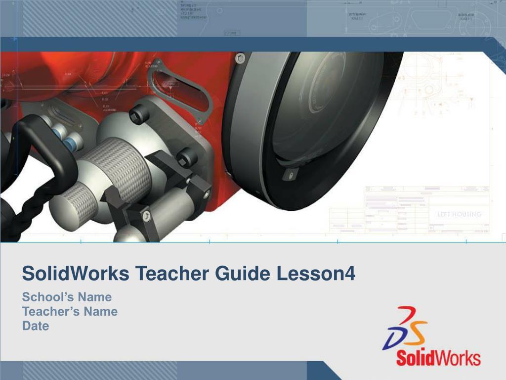 solidworks teacher guide lesson4 l.