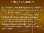 di logo espiritual