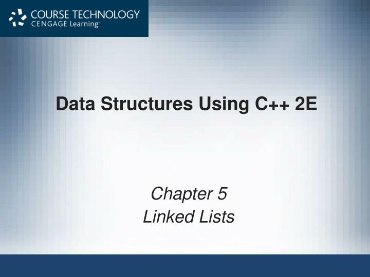 data structures using c 2e n.