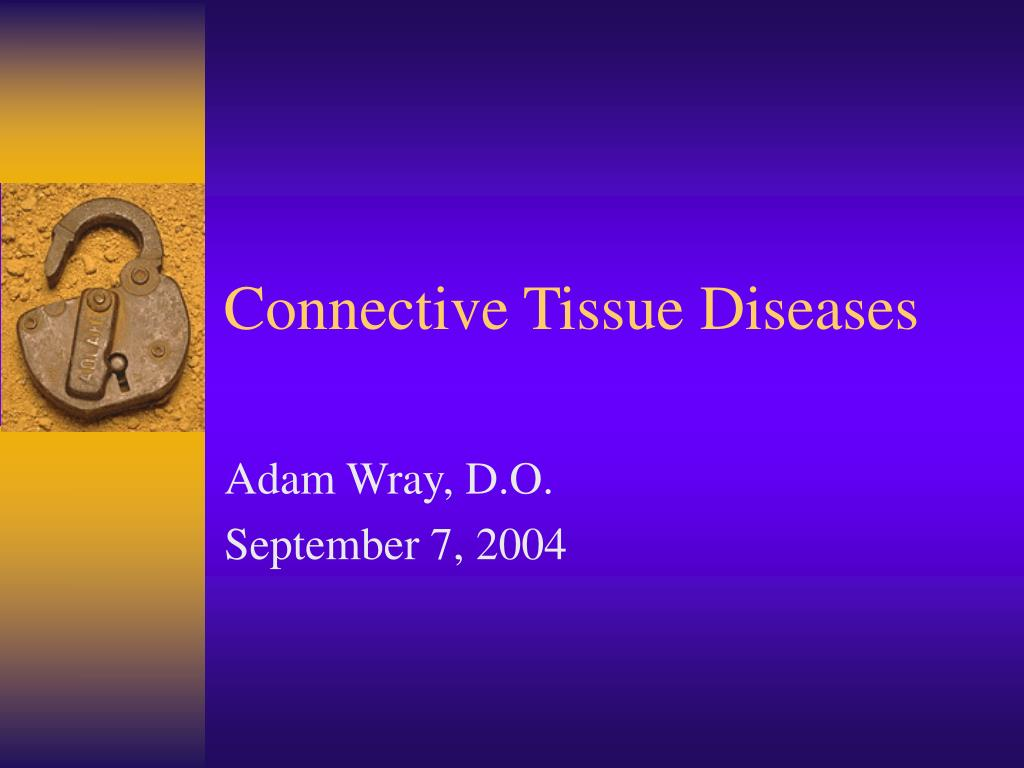 connective tissue diseases l.